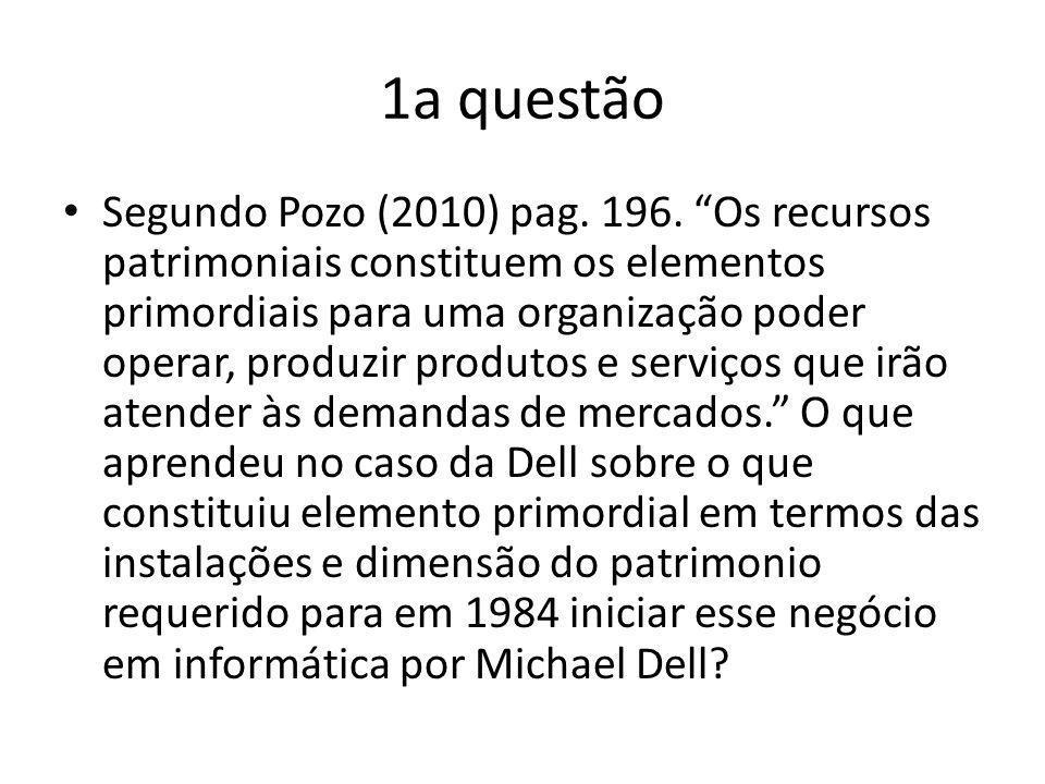 1a questão
