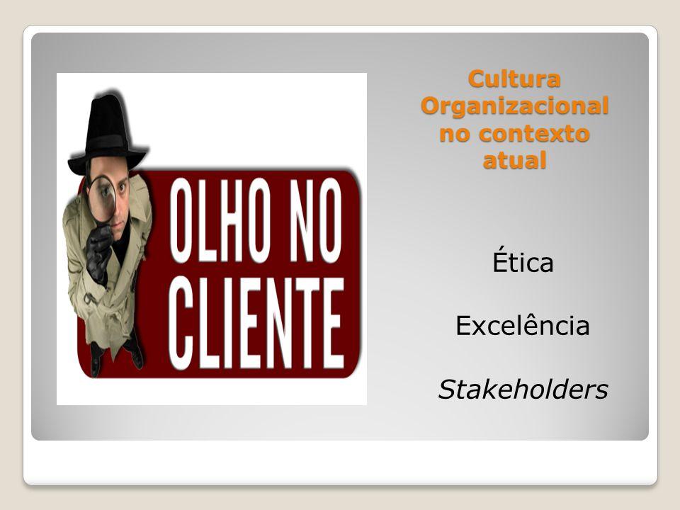 Cultura Organizacional no contexto atual