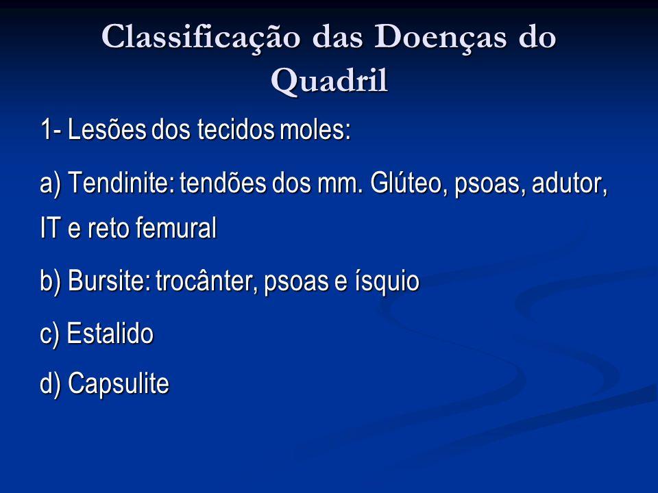 Classificação das Doenças do Quadril