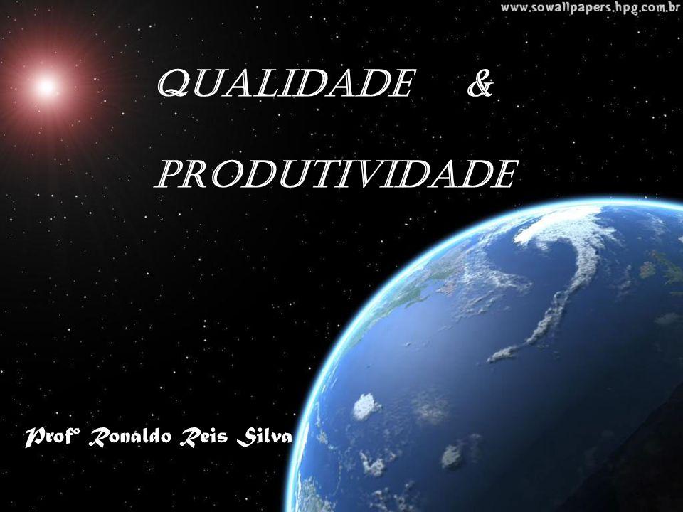 QUALIDADE & PRODUTIVIDADE Profº Ronaldo Reis Silva