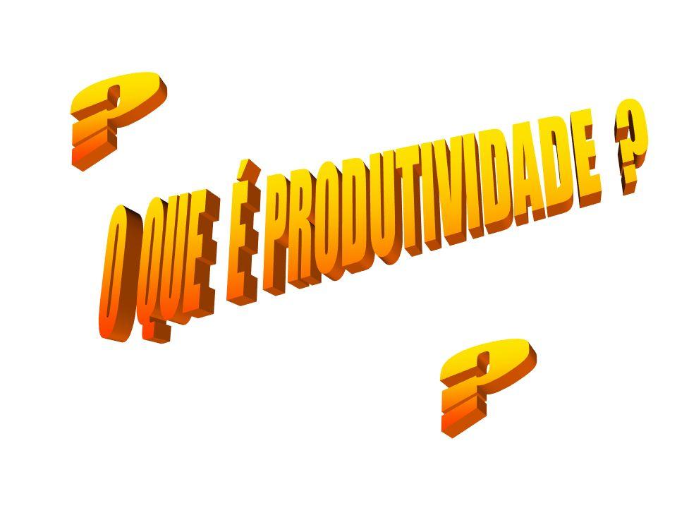 0 QUE É PRODUTIVIDADE