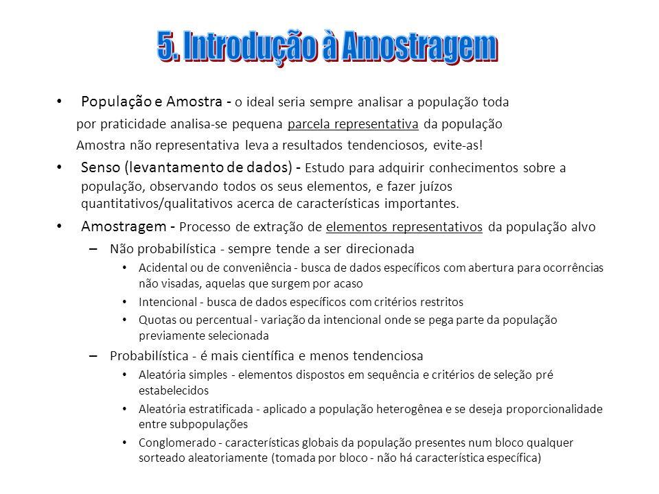 5. Introdução à Amostragem