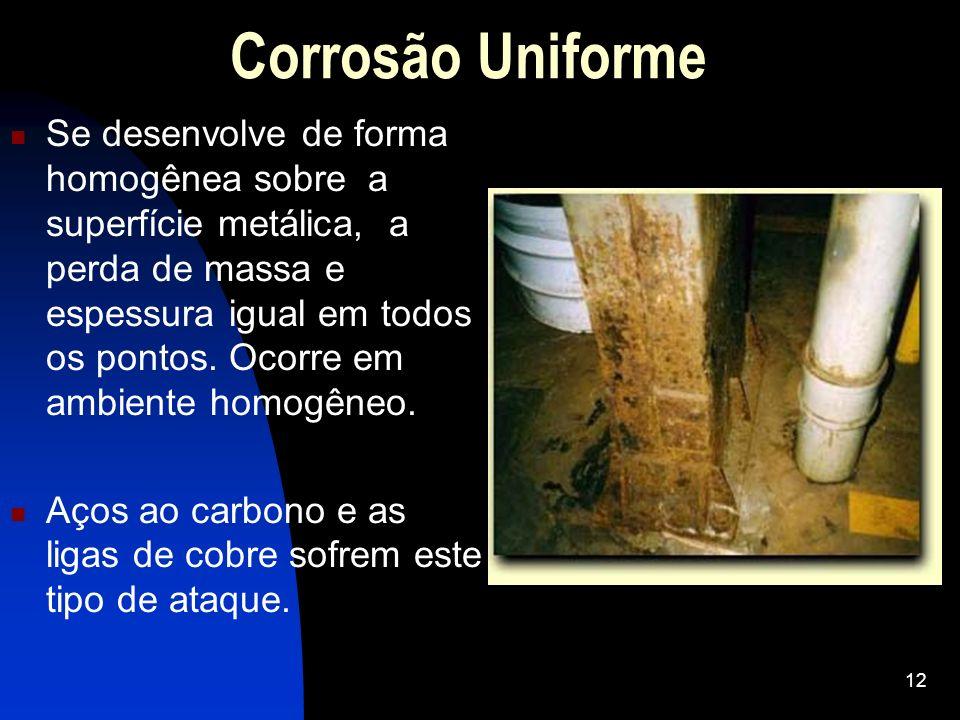 Corrosão Uniforme
