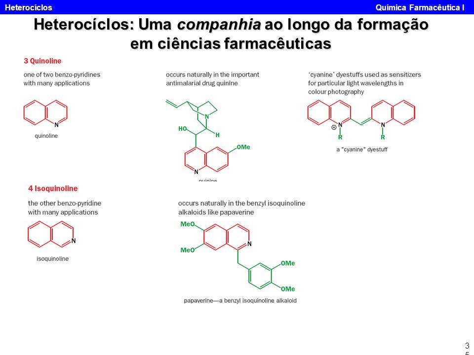 Heterocíclos Química Farmacêutica I