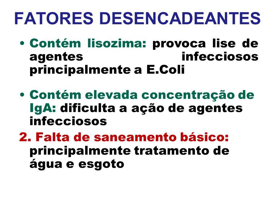 FATORES DESENCADEANTES