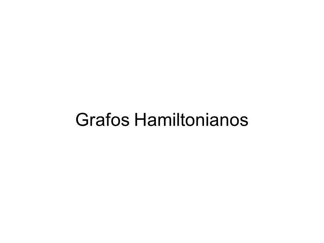 Grafos Hamiltonianos CC/EC/Mestrado Teoria dos Grafos