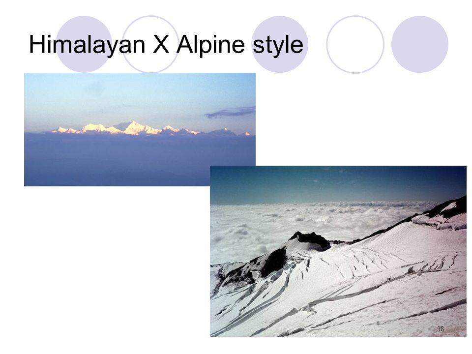 Himalayan X Alpine style