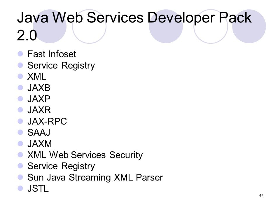 Java Web Services Developer Pack 2.0