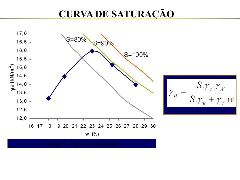 Figura 3 - Curvas de saturação