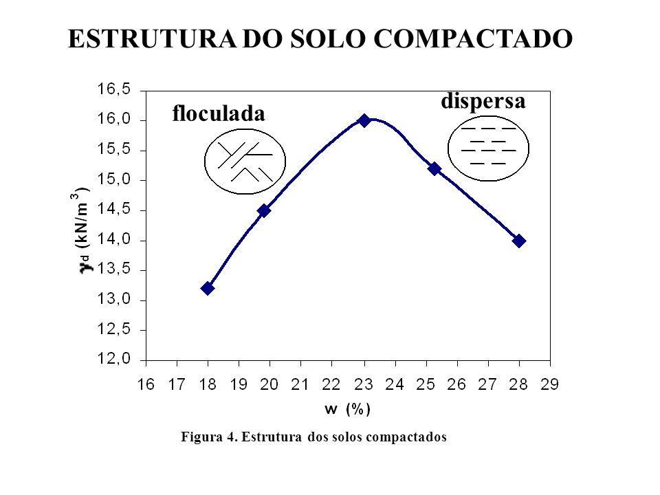 ESTRUTURA DO SOLO COMPACTADO