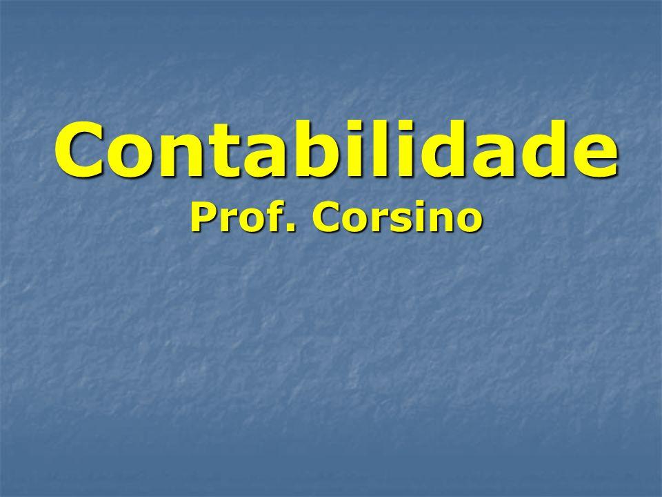 Contabilidade Prof. Corsino