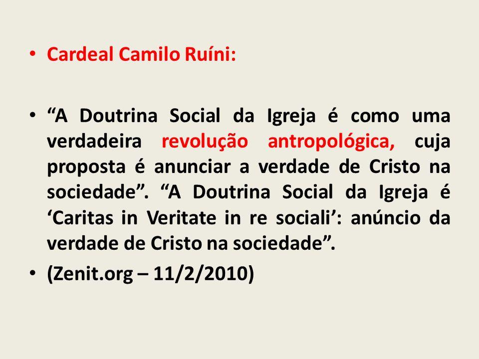 Cardeal Camilo Ruíni:
