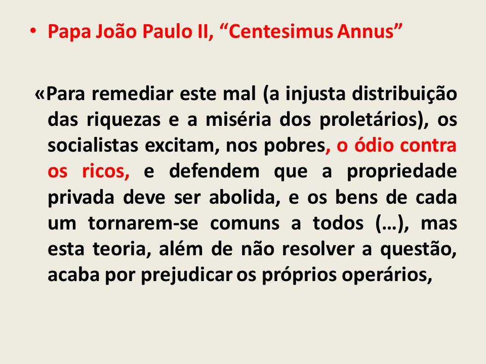 Papa João Paulo II, Centesimus Annus