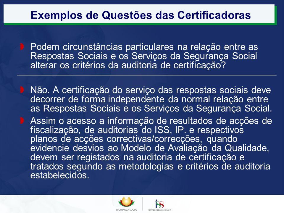 Exemplos de Questões das Certificadoras