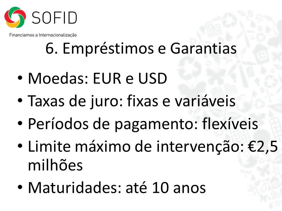 6. Empréstimos e Garantias