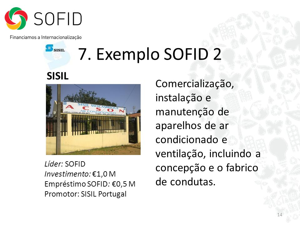 7. Exemplo SOFID 2 SISIL.