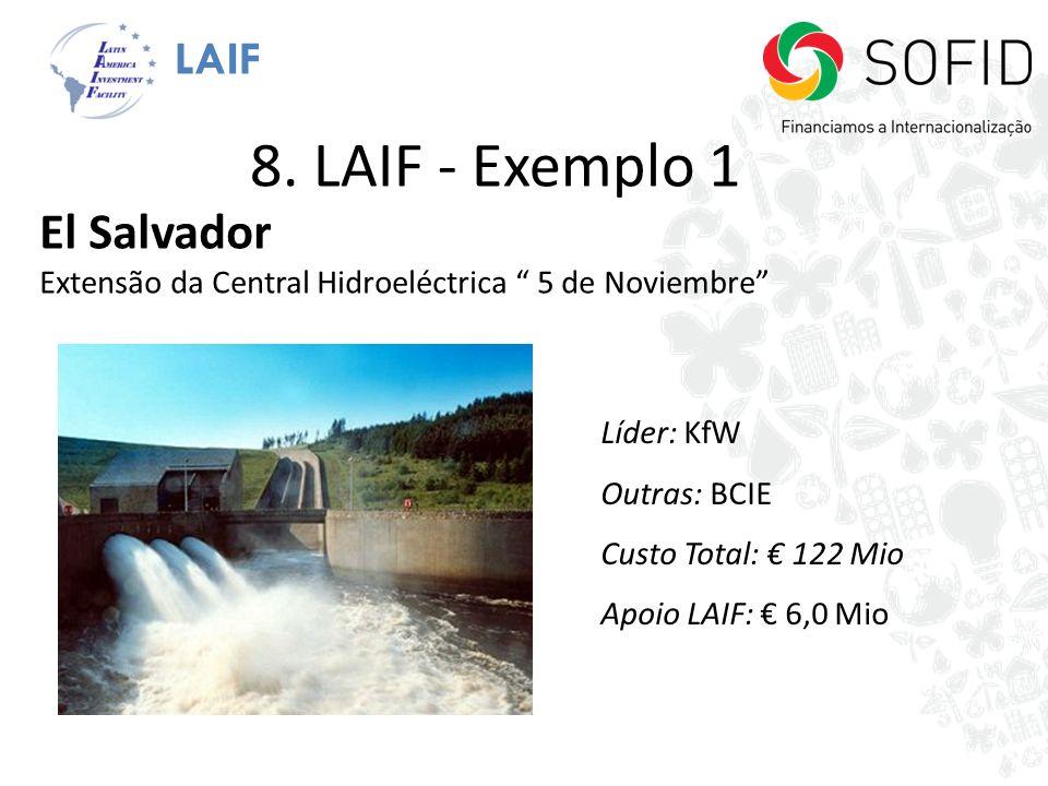 8. LAIF - Exemplo 1 El Salvador LAIF