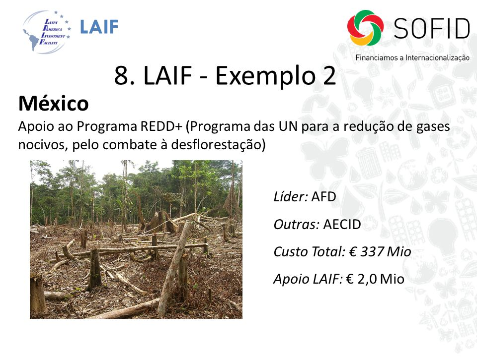 8. LAIF - Exemplo 2 México LAIF