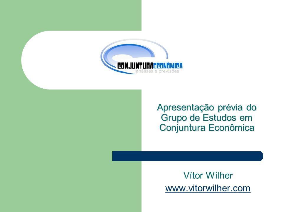Apresentação prévia do Grupo de Estudos em Conjuntura Econômica