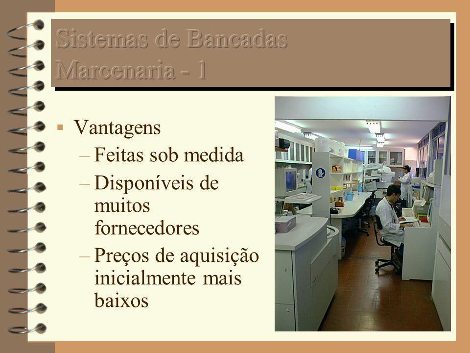Sistemas de Bancadas Marcenaria - 1