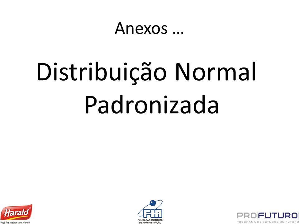 Distribuição Normal Padronizada