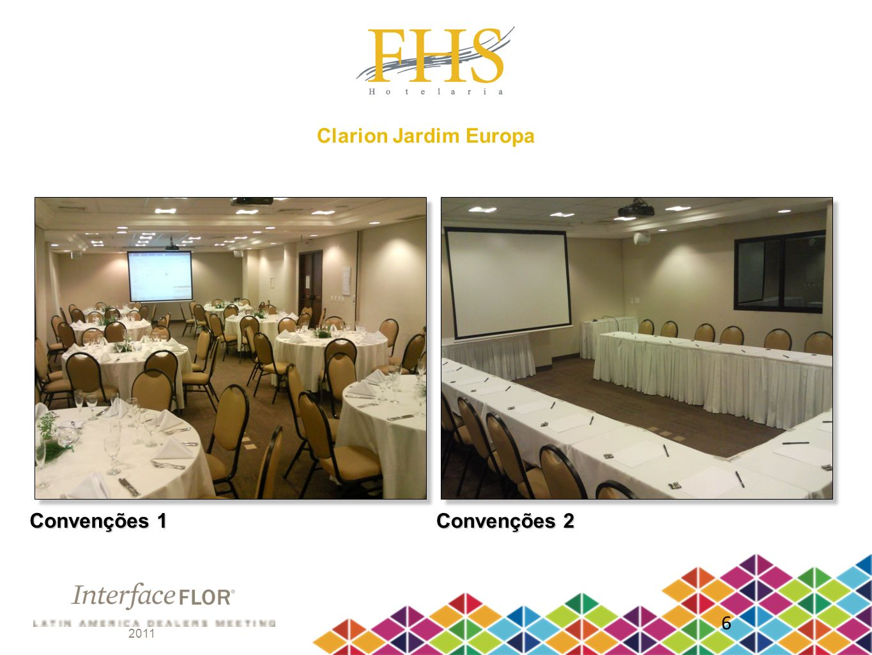 Clarion Jardim Europa Convenções 1 Convenções 2 6 2011