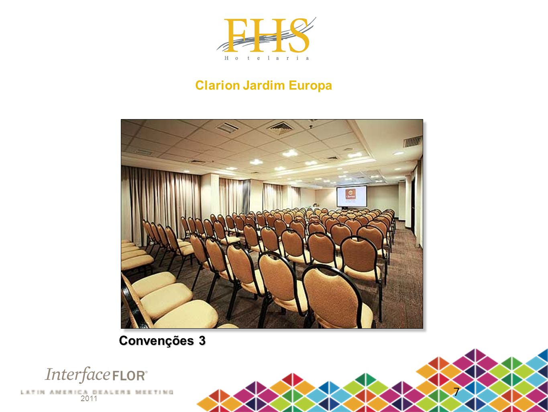 Clarion Jardim Europa Convenções 3 7 2011