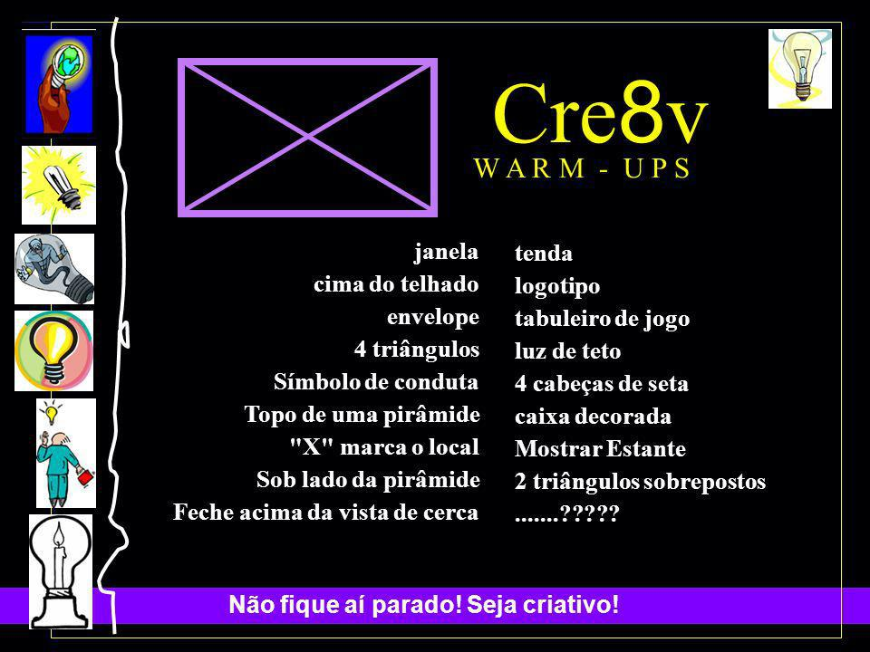 Cre8v W A R M - U P S janela tenda cima do telhado logotipo envelope