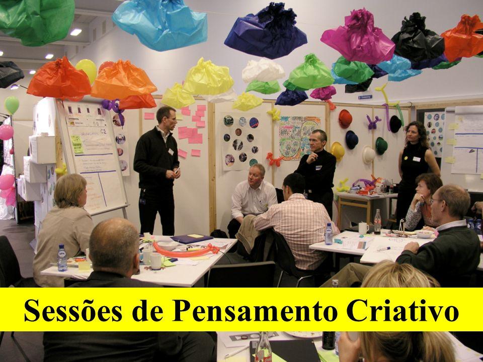Sessões de Pensamento Criativo