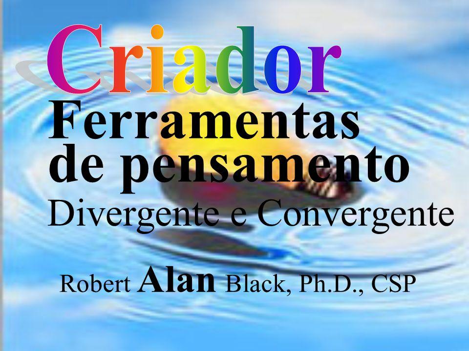 Criador Ferramentas de pensamento Divergente e Convergente