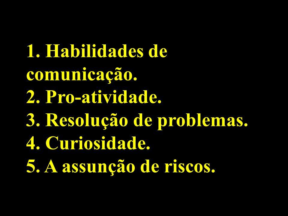 1. Habilidades de comunicação.