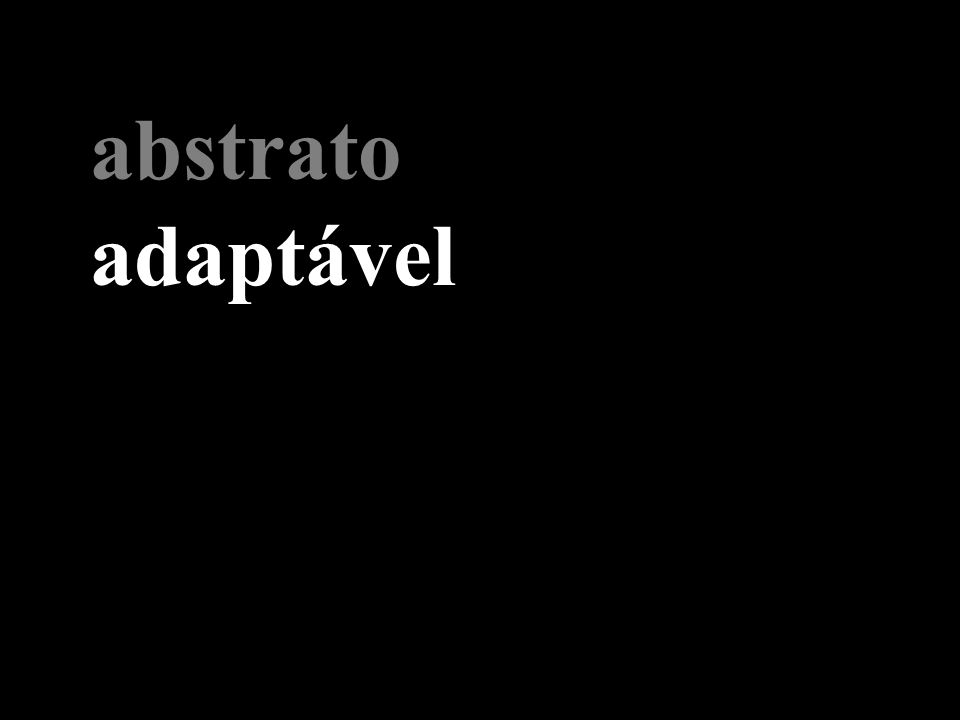 abstrato adaptável