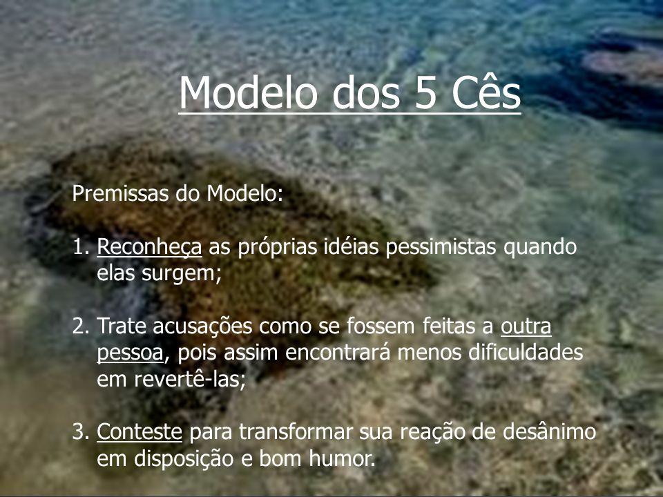 Modelo dos 5 Cês Premissas do Modelo: