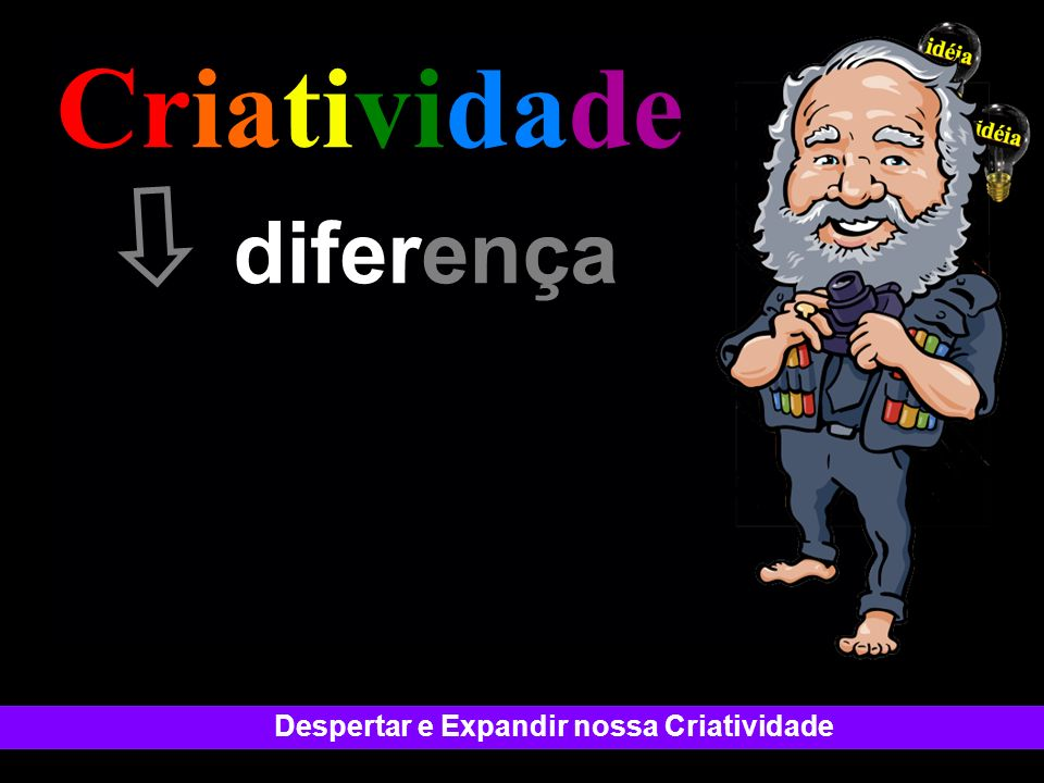 Criatividade . diferença Change Chaos SUCCESS!!!
