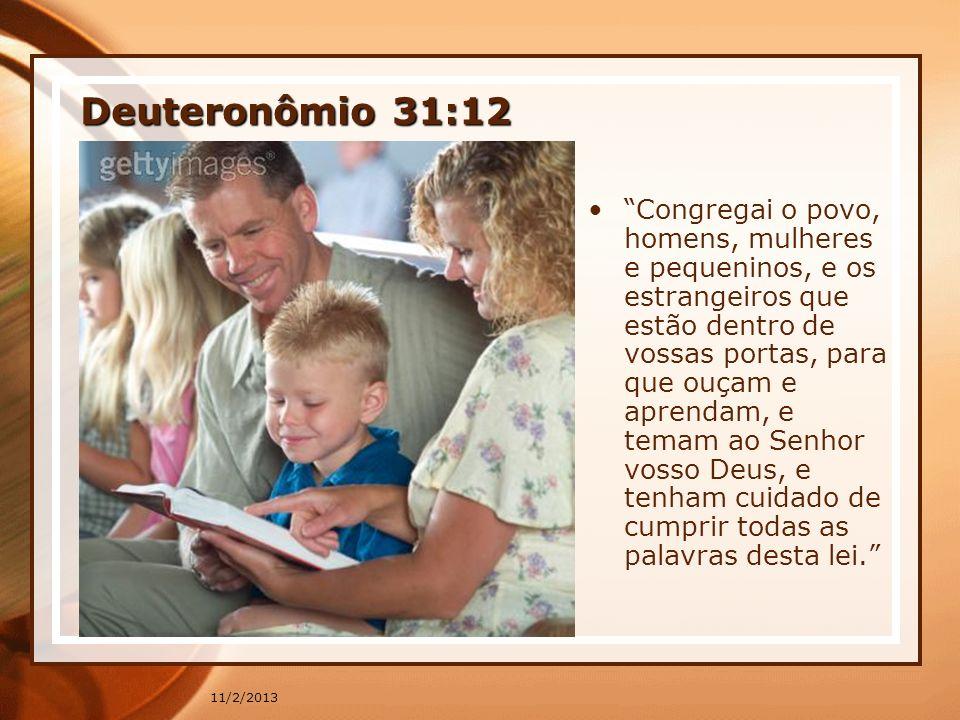 Deuteronômio 31:12