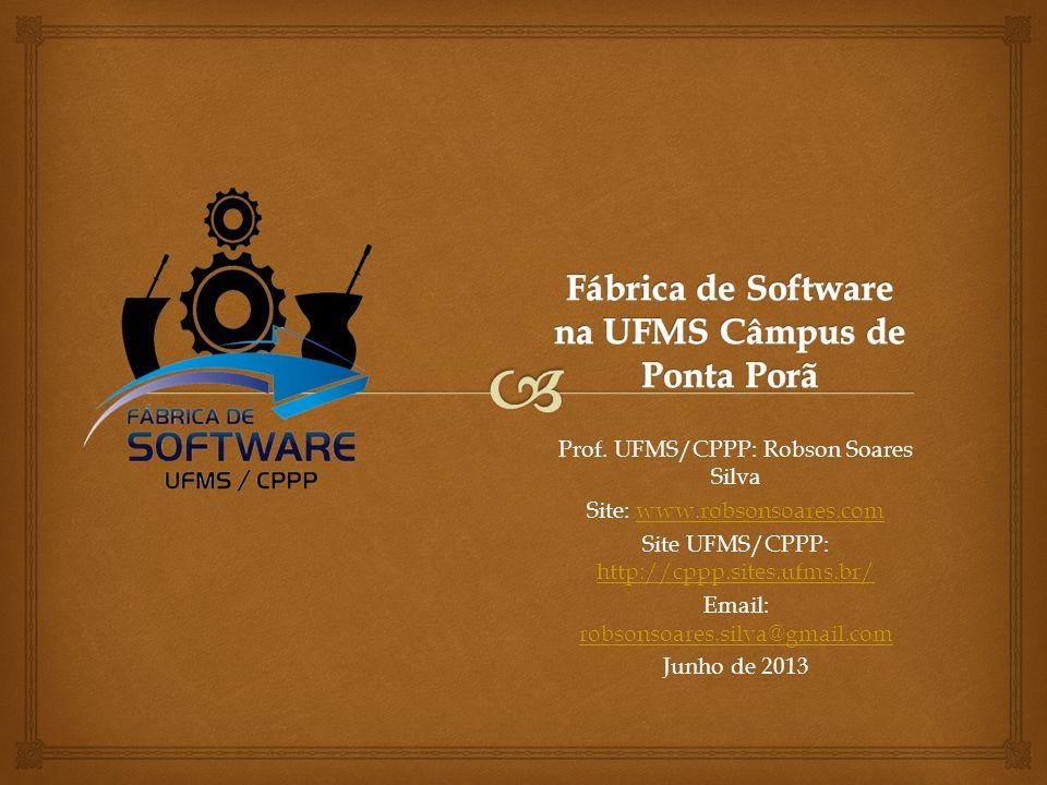 Fábrica de Software na UFMS Câmpus de Ponta Porã