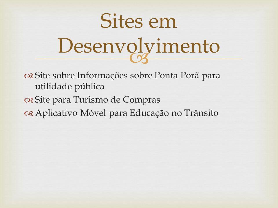 Sites em Desenvolvimento