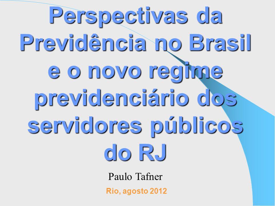 Perspectivas da Previdência no Brasil e o novo regime previdenciário dos servidores públicos do RJ