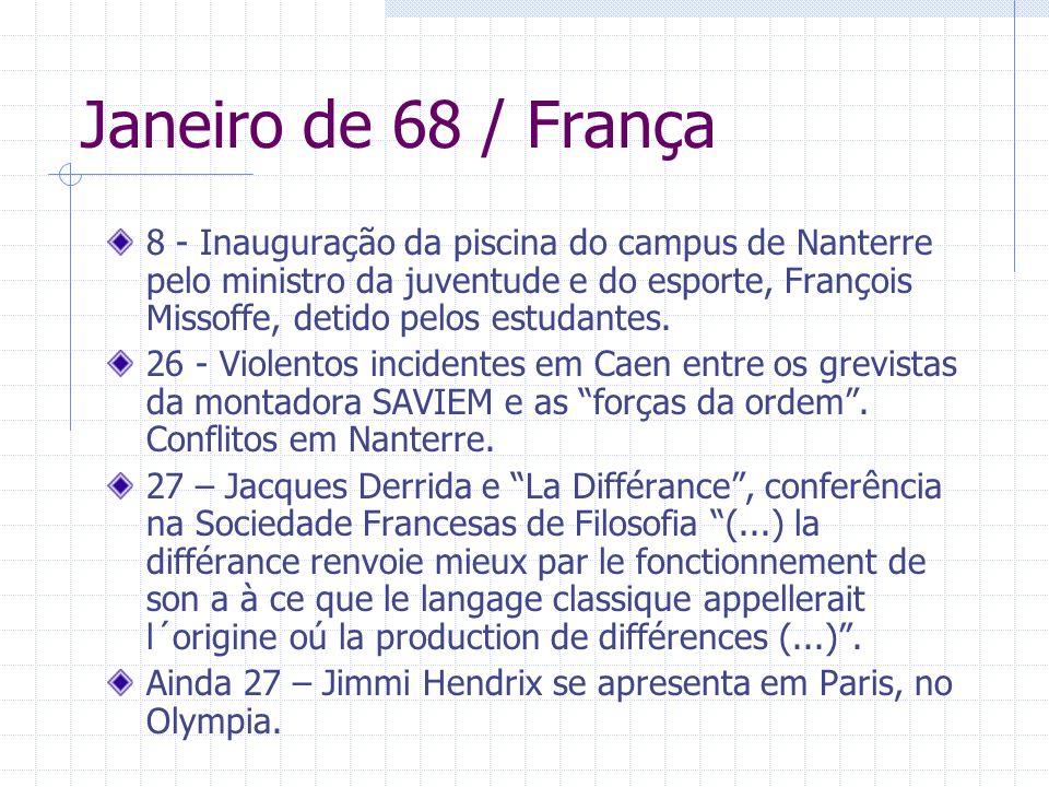 Janeiro de 68 / França