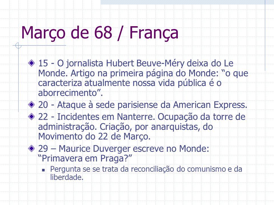 Março de 68 / França