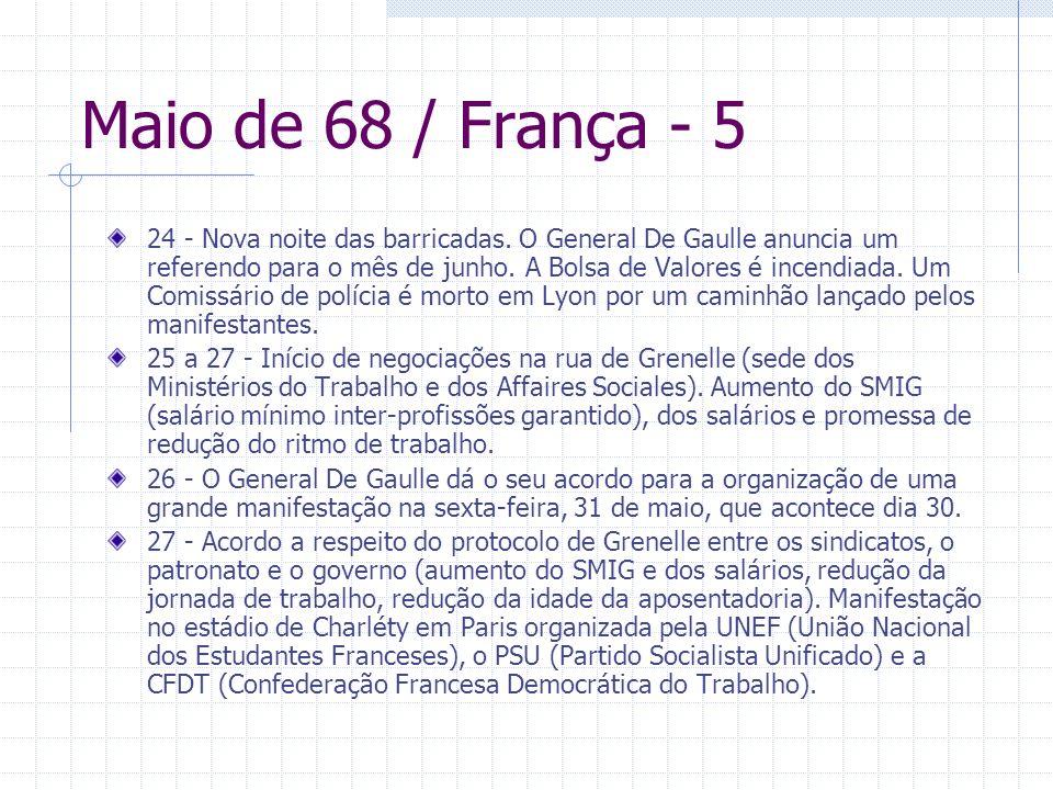 Maio de 68 / França - 5