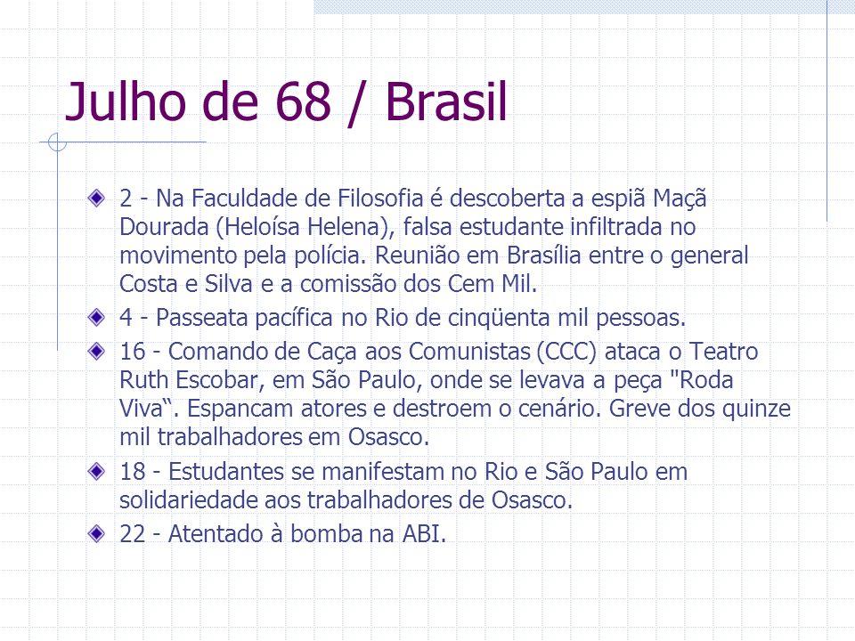 Julho de 68 / Brasil