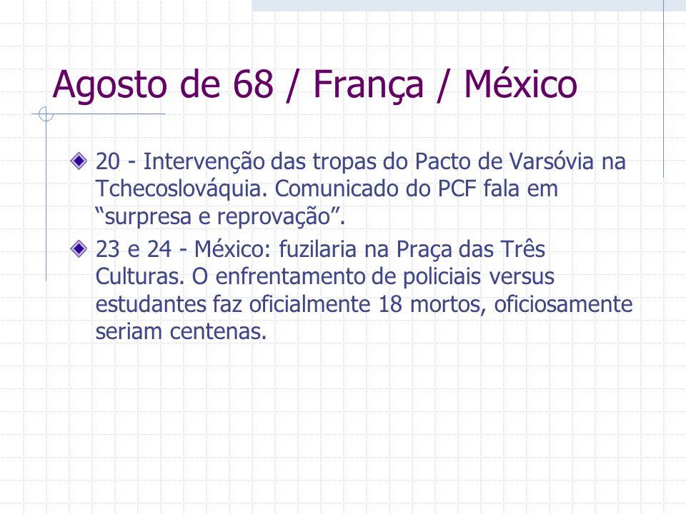 Agosto de 68 / França / México