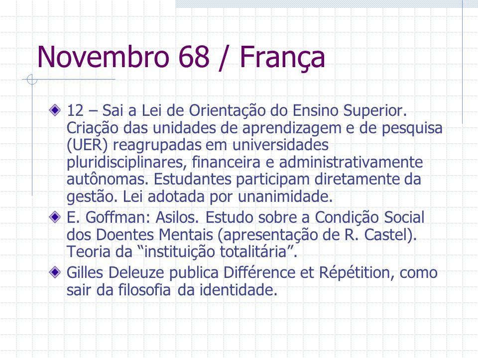 Novembro 68 / França