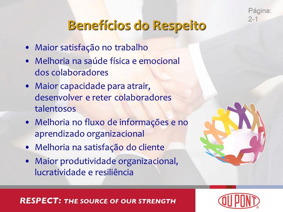 Benefícios do Respeito