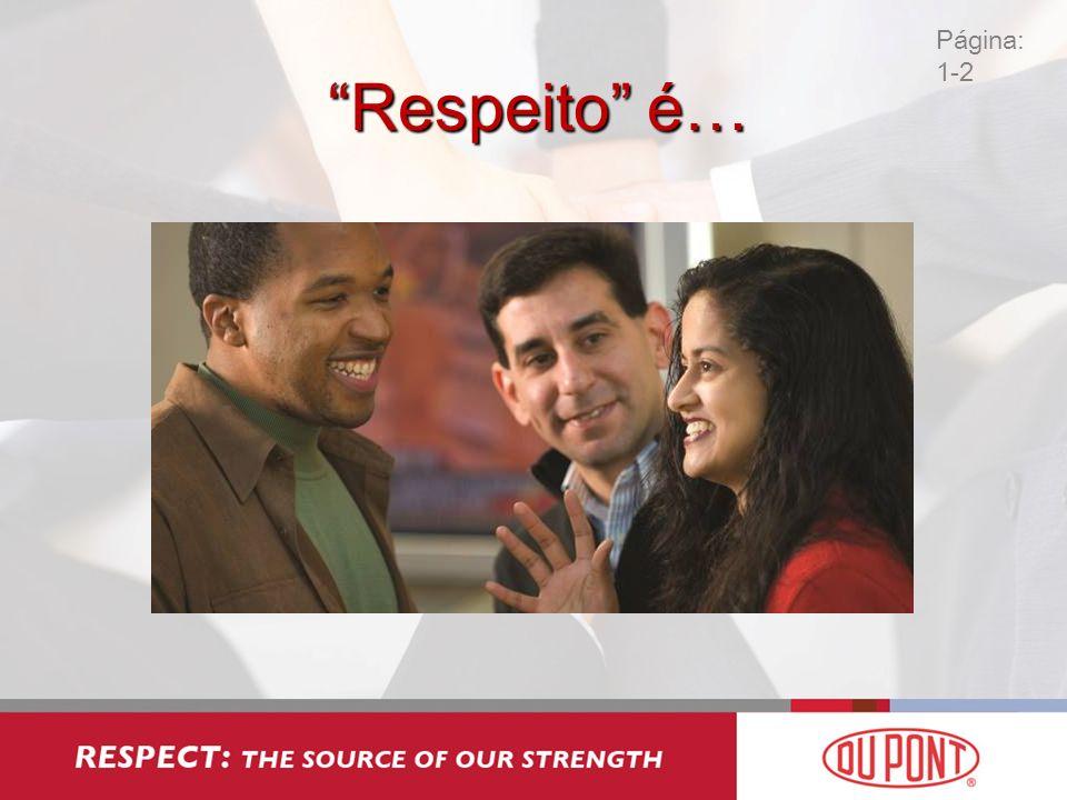Página: 1-2 Respeito é…