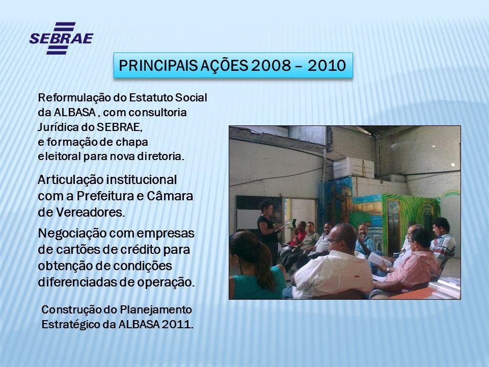 PRINCIPAIS AÇÕES 2008 – 2010 Articulação institucional