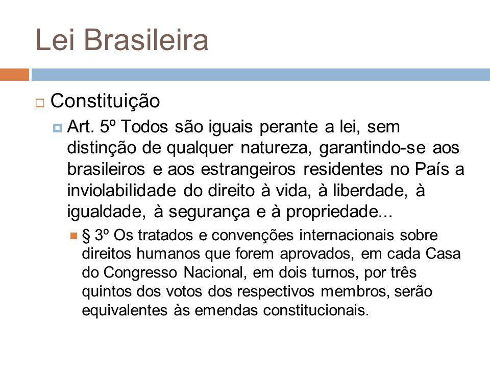Lei Brasileira Constituição