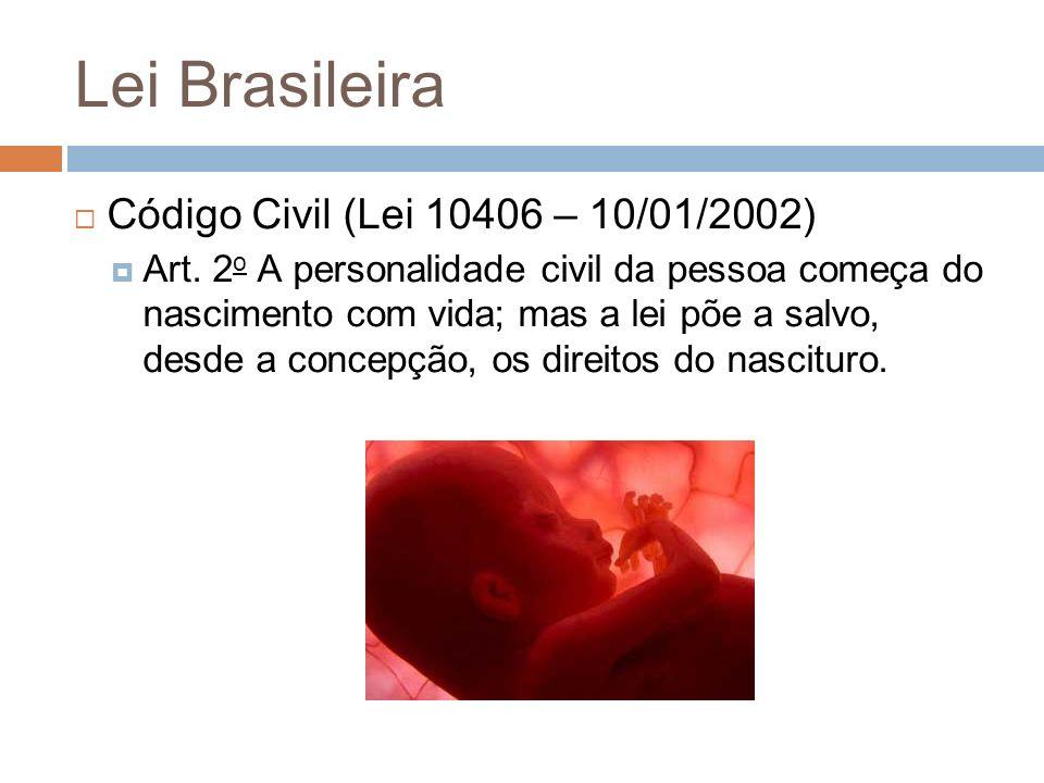 Lei Brasileira Código Civil (Lei 10406 – 10/01/2002)
