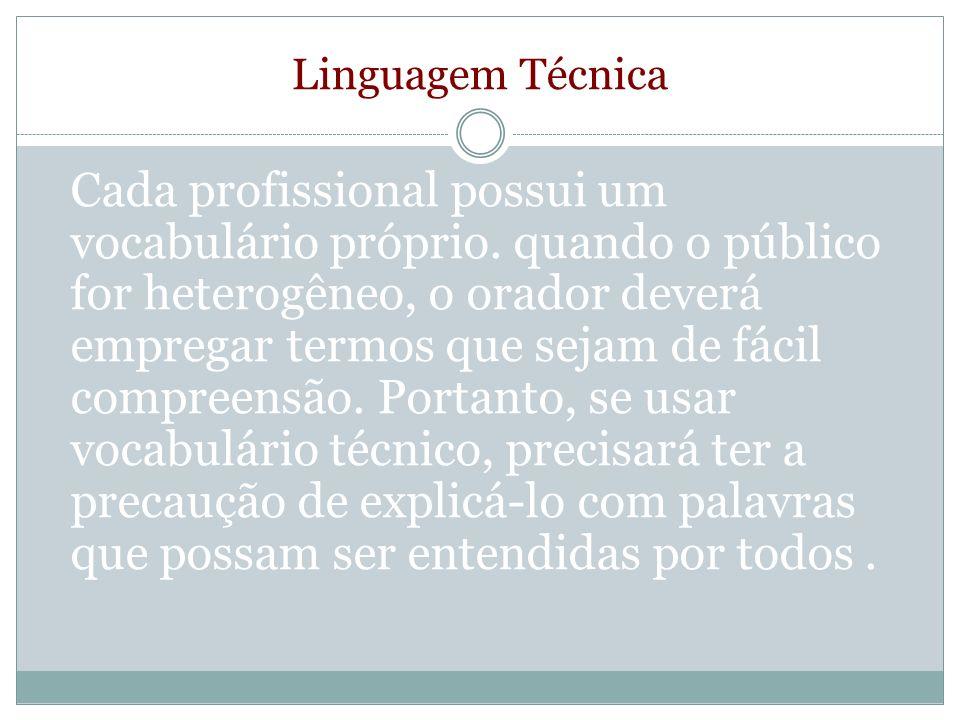 Linguagem Técnica